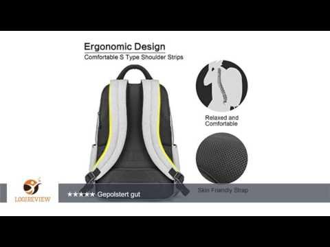 OMOTON Laptop Rucksack für alles Tablet und Laptops bis zu 15,6 zoll, zur Arbeit und Reise [