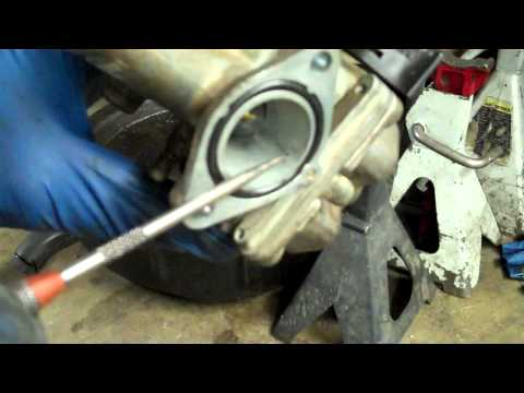 how to adjust pz27 carburetor