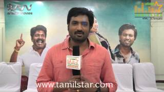 Mirchi Senthil Kumar at Pappali Movie Team Interview