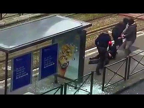 Βέλγιο: Καρέ – καρέ η δραματική σύλληψη υπόπτου στις Βρυξέλλες