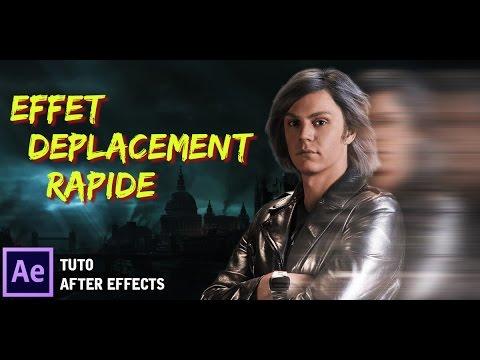 [TUTO] COMMENT FAIRE LE DÉPLACEMENT RAPIDE QUICKSILVER, FLASH, SUPERMAN    AFTER EFFECTS