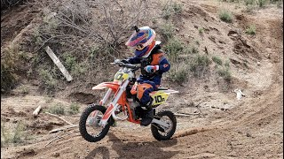 9. I Got My First Win - KTM 50sx AMRA 2019 San Manuel