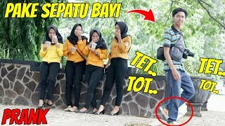 Video PAKE SEPATU BAYI DITEMPAT UMUM konyol Part2 | Prank Indonesia MP3, 3GP, MP4, WEBM, AVI, FLV April 2019