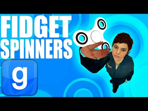 WORKING FIDGET SPINNERS IN GMOD! (Garry's Mod) (видео)