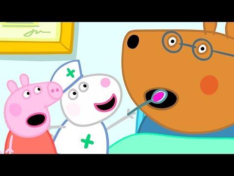 Peppa Wutz  Doktor Braunbär ist krank!  Peppa Pig Deutsch Neue Folgen  Cartoons für Kinder