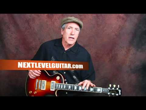 Learn Elvis inspired blues rock n roll rockabilly guitar licks lesson song Little Sister style