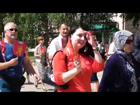 Valgas-Valkas pilsētas svētku parāde (V.Jerums)