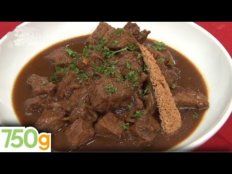 carbonnade flamande traditionnelle}