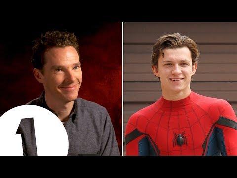 Benedict Cumberbatch's Tom Holland impression is PERFECT.
