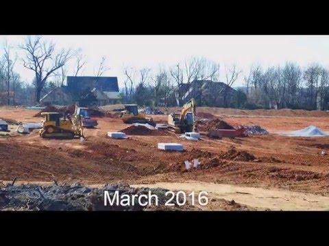 Photos of Progress on Forest Hills, Springfield, Missouri