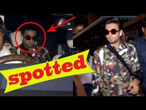 Ranveer Singh Spotted