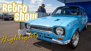 Retro Show 2015 Highlights from Santa Pod Raceway