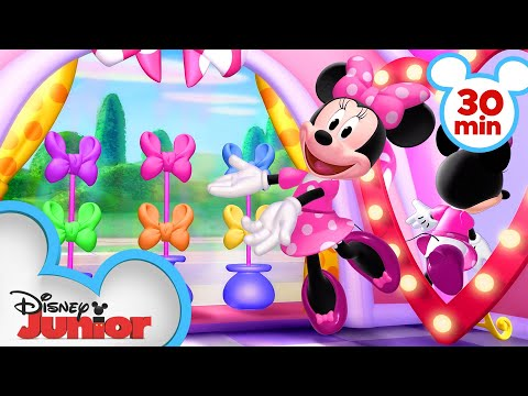 Bow-Toons Adventures for 30 Minutes! | Compilation Part 2 | Minnie's Bow-Toons | Disney Junior