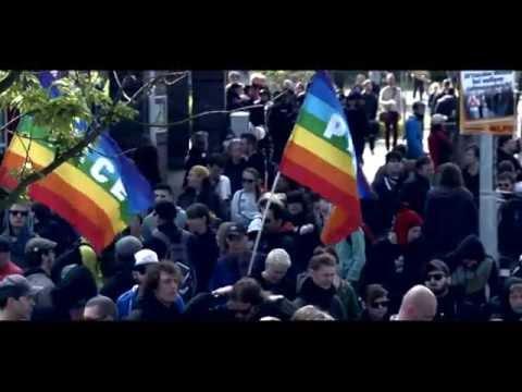 Rostock 2014: 1. Mai in Rostock - Demos gegen NPD-Aufma ...