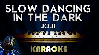 Joji - SLOW DANCING IN THE DARK | Piano Karaoke Version Instrumental Lyrics Cover Sing Along