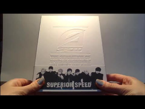 Unboxing SPEED 스피드 1st Studio Album Superior Speed (видео)