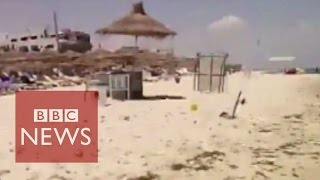 Sousse Tunisia  city images : Tunisia: Amateur footage of Sousse attack - BBC News