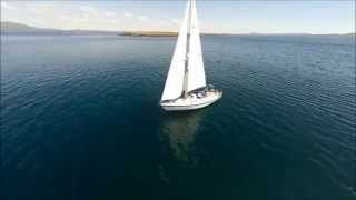 Carbery Sailing's SY Merlin in Roaringwater Bay, West Cork, Ireland