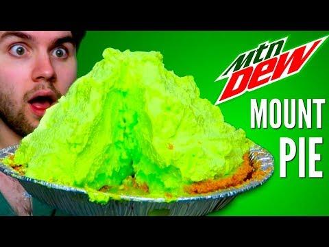 MOUNTAIN DEW MOUNTAIN PIE DIY | How To (видео)
