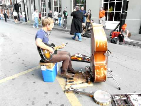 Ryan: Best New Orleans street musician I've seen