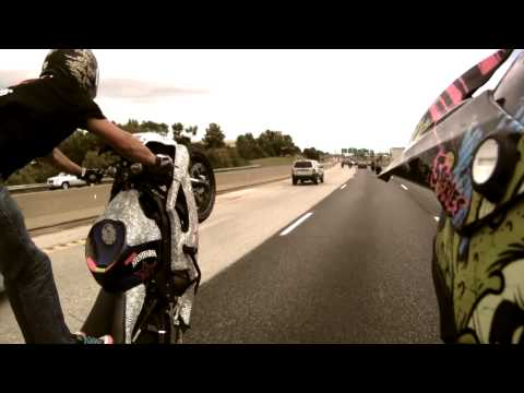 street - CHECK OUT (((( http://bloxstarzlifestyle.com )))) FACEBOOK @ http://facebook.com/bloxstarz Watch as 2000 plus street bike riders take over the streets & high...