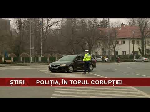 Polițiștii români, în topul corupților din U.E.