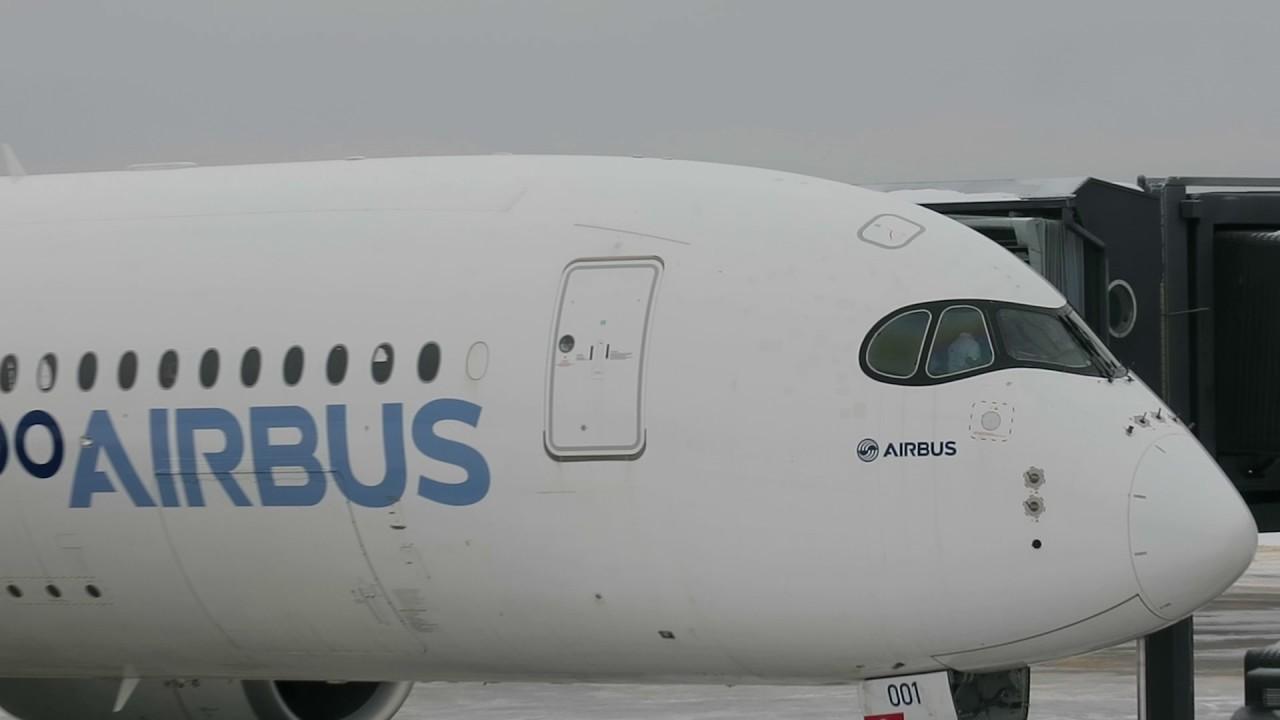 Iso Airbus jälleen koe-<br /> lennolla Lapin taivaalla