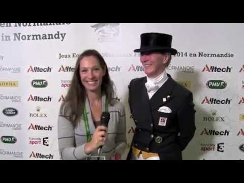WEG dressage individual: Nathalie zu Sayn Wittgenstein talks to H&H [VIDEO]