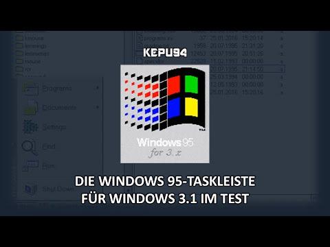 Windows 95 for 3.x - Ein Stück Windows 95 in Windows 3.1