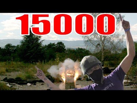 explosion - SlowMo pour les nOObs - Explosion Gazinière Slow Motion 2000fps ♪♪♪ Spécial 15.000 abonnés : MERCI ▻https://www.facebook.com/ZeFrenchies.