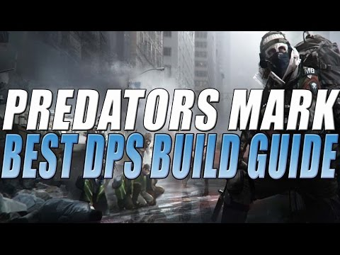 The Division - Predators Mark Melt MACHINE Best PvP DPS Build Guide
