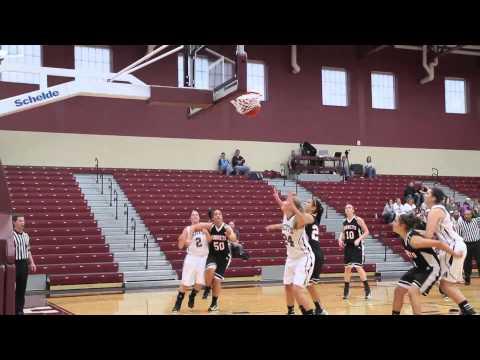 Alma College Women's Basketball - December 1, 2012
