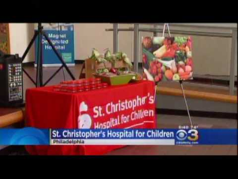 Good Food, Healthy Hospitals Initiative Signing - CBS 3