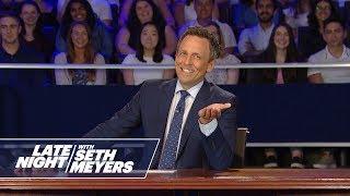Late Night Democratic Presidential Debate Round Two