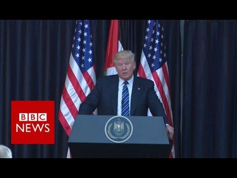 Manchester Arena Explosion: Donald Trump calls suicide bomber an 'evil loser' - BBC News