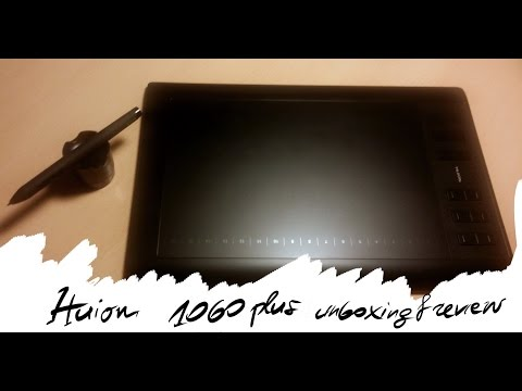 Huion 1060 plus(Graphics Drawing Pen Tablet) unboxing & review