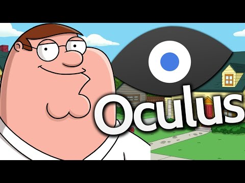 Oculus Rift – BE INSIDE FAMILY GUY! (Virtual Reality Games)