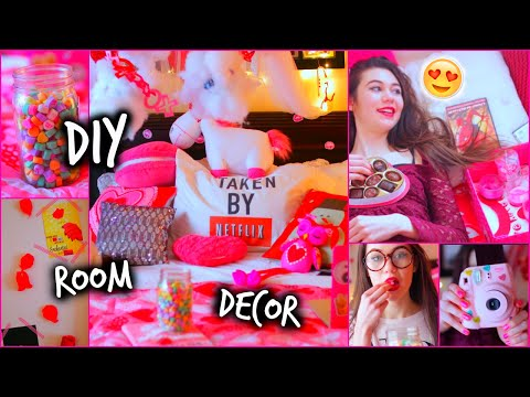 Valentine's - DIY Room Decor - Valentine's Day Decorations/Gifts CAN WE GET THIS TO 1100 LIKES FOR ANOTHER VALENTINE'S DIY VIDEO! So, I seriously am obsessed with changing up my room, so this ...