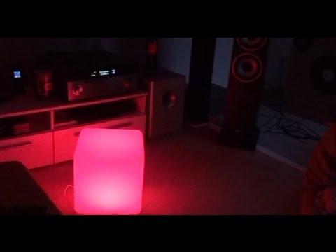 LED CUBE Test Review Unboxing coole Beleuchtung für jeden.