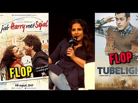 Vidya Balan REACTS On FLOP Films Jab Harry Met Sej