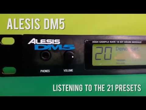Alesis DM5 Drum Module - How Does It Sounds? (quick Test)