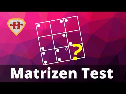 Matrizen Test Einstellungstest online üben