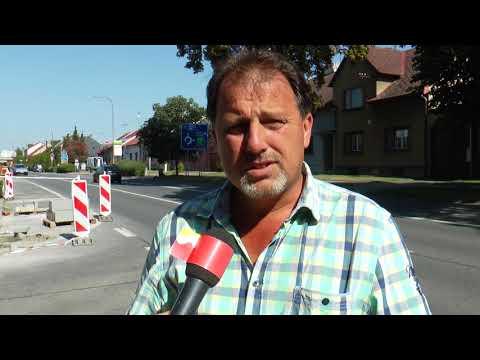 TVS: Hulín - Nový chodník na ulici Záhlinická