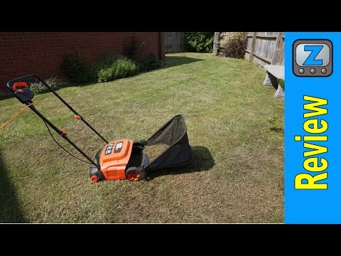 Black and Decker GD300 Electric Rake and Scarifier Review
