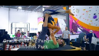 FA Grand Opening Party At Humboldt Park - Dynos - Legendary Vehicle - Beers by Eric Karlsson Bouldering