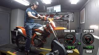 3. How Much Power Does The 2019 KTM 350 EXC-F Make?
