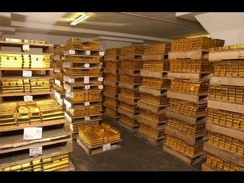 Look inside The Federal Reserve Vault