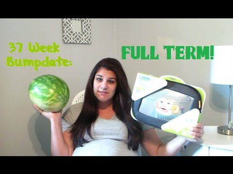 FULL TERM: Week 37 BUMPDATE + Belly! Pregnancy After Having a Child with a Disability