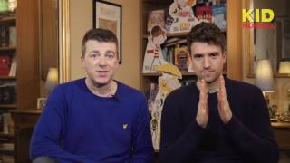 Greg James and Chris Smith introduce their first children's book, Kid Normal. In Kid Normal, Murph Cooper ends up at a school for superheroes by mistake! But just because you don't have superpowers, it doesn't mean you can't save the day…Find out more: https://www.bloomsbury.com/uk/kid-normal-9781408884539/