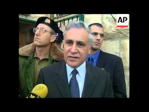 MIDDLE EAST: MOSHE KATSAV SPEECH